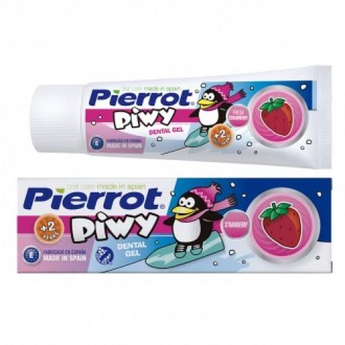 Зубной гель Pierrot Пиви клубника (Са+F) 75 мл