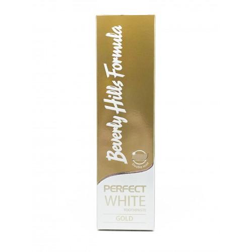 Зубная паста Beverly Hills Formula Perfect White Gold 100 мл
