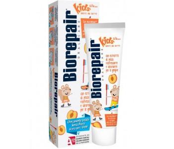 Детская зубная паста BioRepair Веселый мышонок Персик 50 мл
