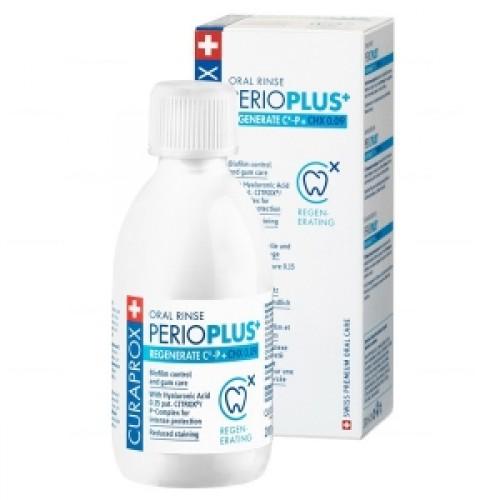 Ополаскиватель для полости рта Curaprox Perio Plus Восстановление 0,09% 100 мл