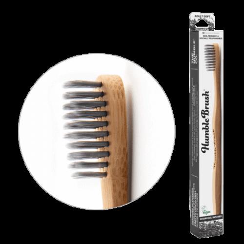 Зубная щетка Humble с бамбуковым углем мягкая
