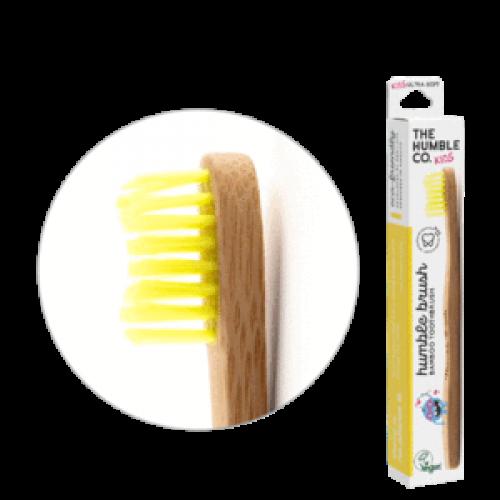 Детская зубная щетка Humble Желтая Ультрамягкая