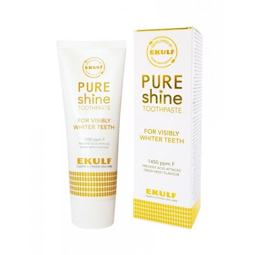 Зубная паста Ekulf Pure Shine отбеливающая 75 мл