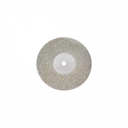Диск алмазный 22/8 мм двусторонний абразивность средняя 1 шт
