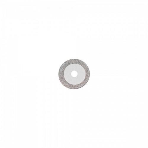 Диск алмазный 10/7 мм двусторонний абразивность мелкая 1 шт