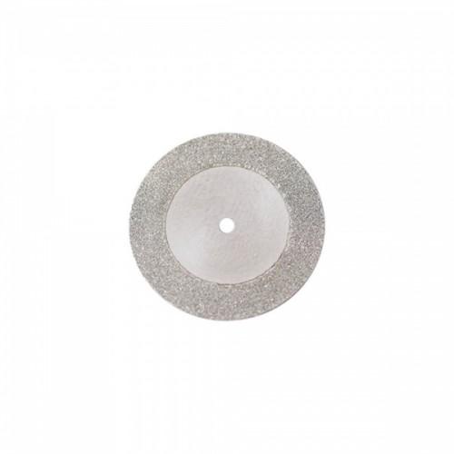 Диск алмазный 22/16 мм двусторонний абразивность мелкая 1 шт