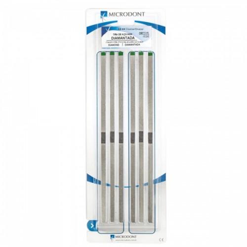 Штрипсы металлические гладкий центр 4.0 мм зелёные 6 шт