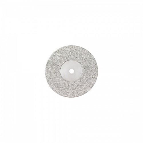 Диск алмазный 19/8 мм двусторонний абразивность мелкая 1 шт