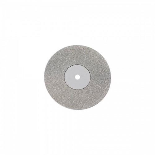 Диск алмазный 22/8 мм двусторонний абразивность мелкая 1 шт