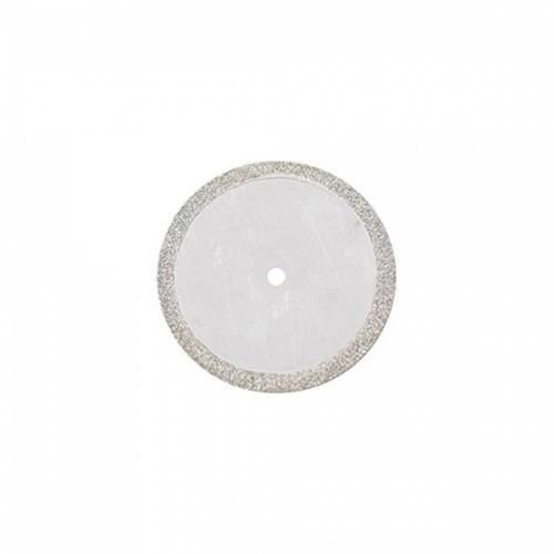 Диск алмазный 22/18.4 мм двусторонний абразивность средняя 1 шт
