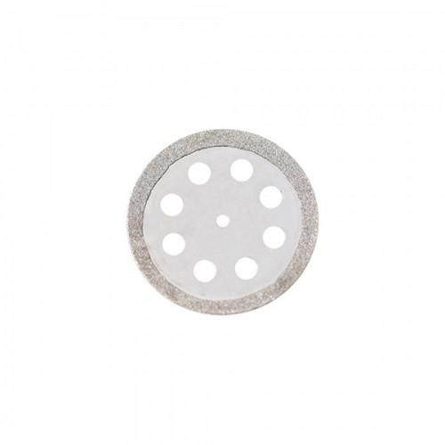 Диск алмазный 22/18.4 мм двусторонний с перфорацией абразивность средняя 1 шт