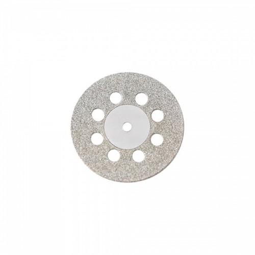 Диск алмазный 22/8 мм двусторонний с перфорацией абразивность средняя 1 шт