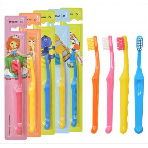 Детская зубная щетка Spokar D от 0 до 6 лет