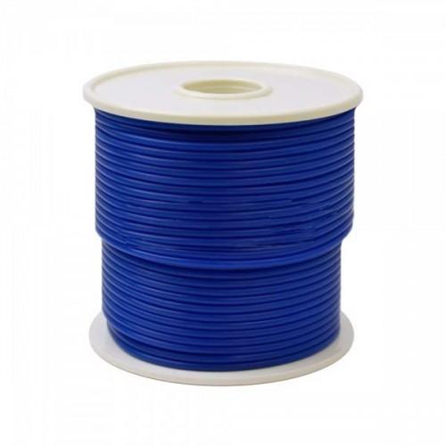 Восковой провод диаметр 4.0 мм синий средней жёсткости 250 г