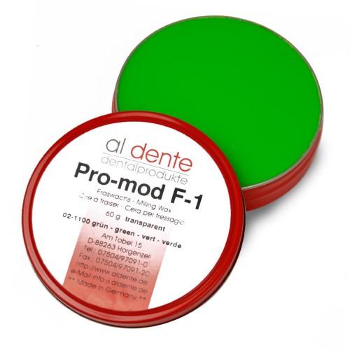 Воск фрезерный PRO-MOD F-1 зеленый прозрачный 60 г
