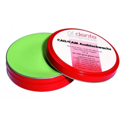 Воск для поднутрений CAD/CAM BLOCK-OUT зелёный 70 г