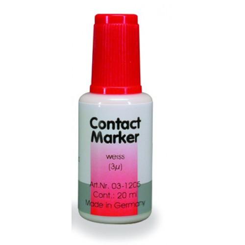 Маркер для контактных поверхностей CONTACT MARKER белый 20 мл