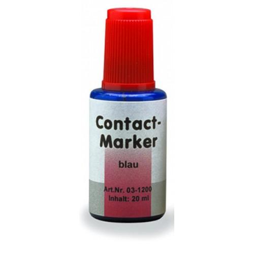 Маркер для контактных поверхностей CONTACT MARKER синий 20 мл
