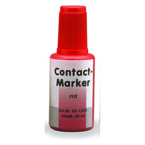 Маркер для контактных поверхностей CONTACT MARKER красный 20 мл