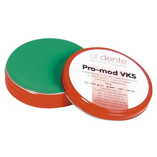 Воск моделировочный для пресс-керамики PRO-MOD VKS зелёный 70 г