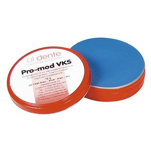 Воск моделировочный для пресс-керамики PRO-MOD VKS синий 70 г
