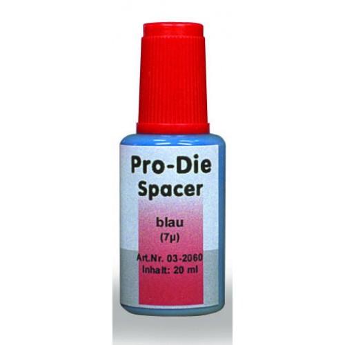 Лак компенсационный PRO-DIE синий опаковый 7 мкм 20 мл