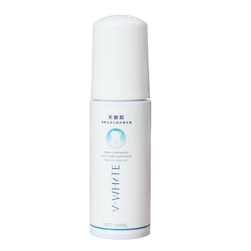 Пенка-мусс для чистки зубов V-White Fresh Clean для автоматической зубной щетки Beaver V-White V1(V2) 60 мл