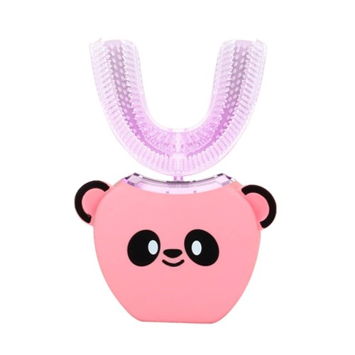 Детская электрическая зубная щетка Beaver V-White Kids Smart automatic toothbrush Розовая