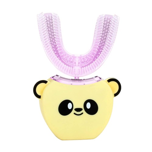 Детская электрическая зубная щетка Beaver V-White Kids Smart automatic toothbrush Жёлтая
