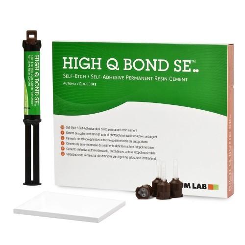 HIGH-Q-Bond SE Auto Mix Т самоадгезивний композитный цемент двойного отверждения 5 мл + насадки