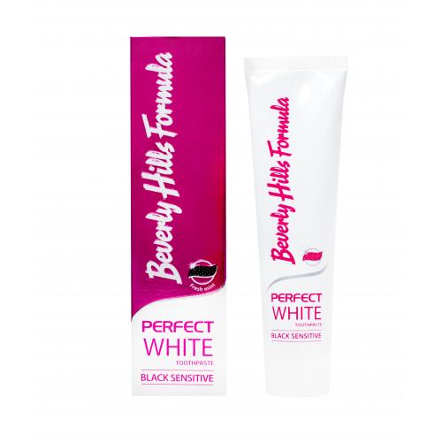 Зубная паста Beverly Hills Formula Perfect White Black Sensitive 100 мл