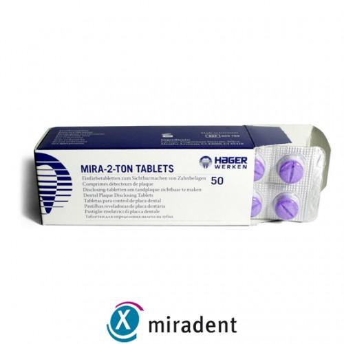 Таблетки для индикации налета Miradent Mira-2-Ton 50 шт