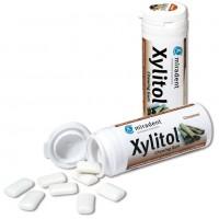 Жевательная резинка с ксилитолом Miradent Xylitol chewing gum Корица 30 шт