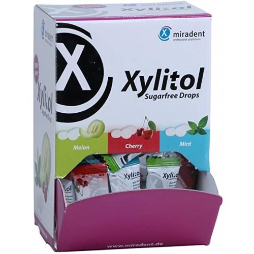 Леденцы с ксилитом Miradent Xylitol Drops в ассортименте 100 шт