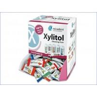 Жевательная резинка с ксилитолом Miradent Xylitol chewing gum в ассортименте 200 шт