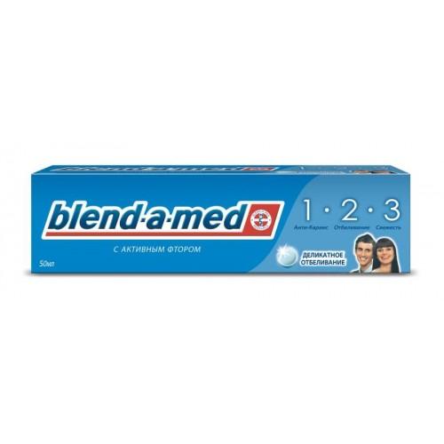Зубная паста Blend-A-Med 3 Эффект Деликатное отбеливание 50 мл