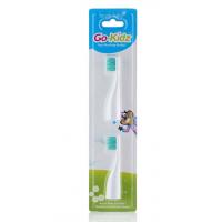 Сменные насадки для зубной щетки Brush-Baby Go Kidz 2 шт