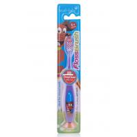 Детская зубная щетка Brush Baby FlossBrush от 6 лет фиолетовая
