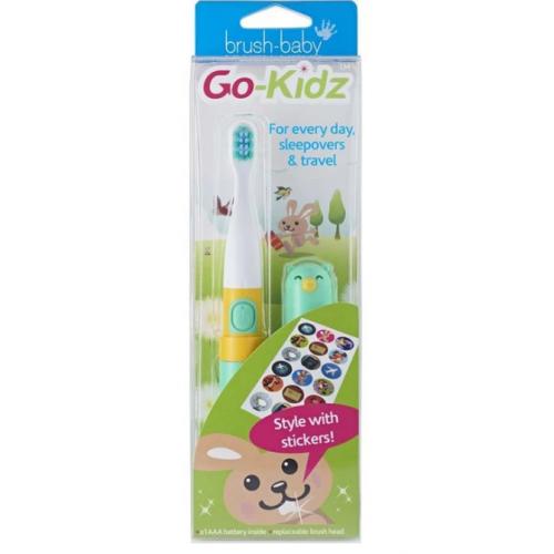Электрическая зубная щетка Brush-Baby Go Kidz Boxed Teal