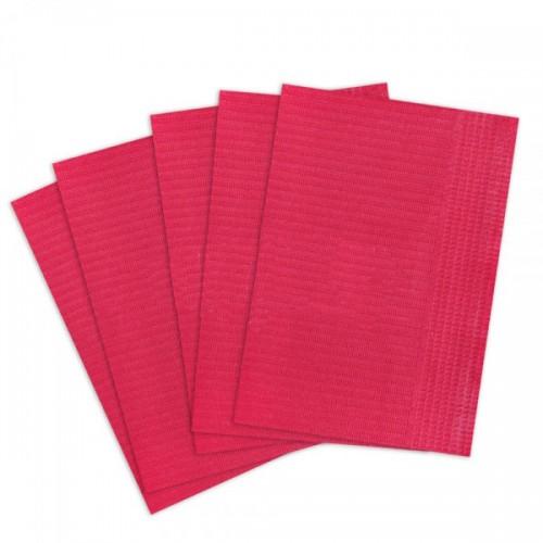 Салфетки для пациентов 2-слойные (не отбеленные, красные 33х45 см) 500 шт