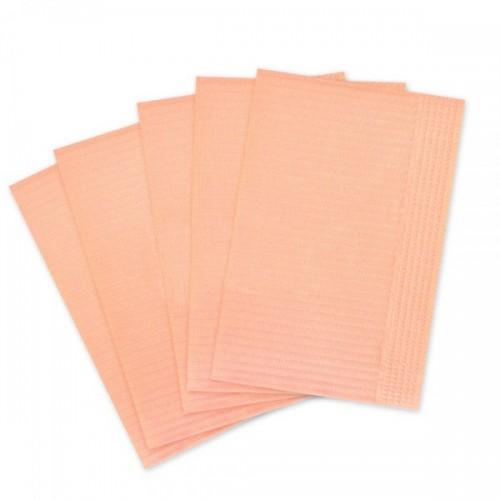 Салфетки для пациентов 2-слойные (оранжевые 33х45 см) 500 шт