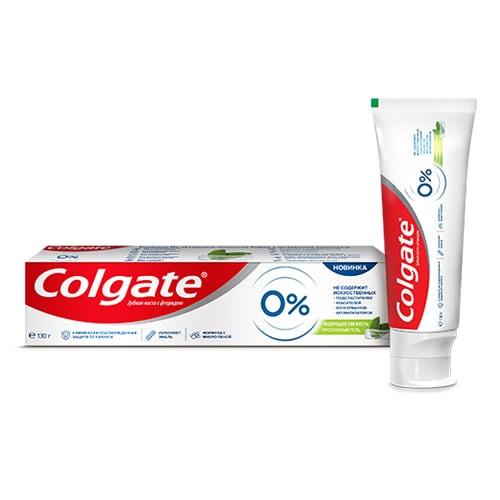Зубная паста Colgate 0% Взрывная свежесть 130 мл