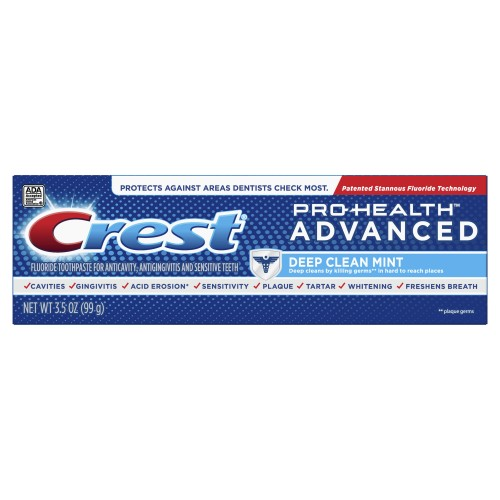 Зубная паста Crest Pro-Health Advanced Deep Clean Mint 99 мл