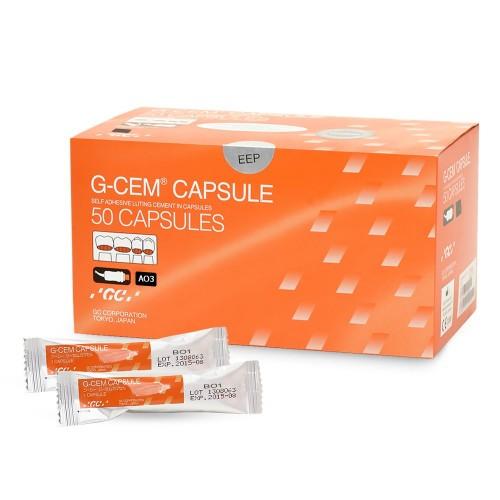 G-CEM Capsule самоадгезивный композитный фиксирующий цемент двойного отверждения цвет AО3 1 капсула