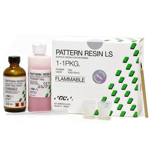 PATTERN RESIN LS моделирующая беззольная пластмасса с низкой усадкой набор порошок 100 г + жидкость 100 мл