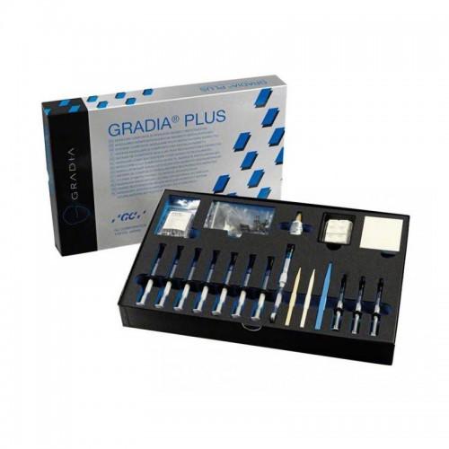 GRADIA PLUS Gum Shades Set светоотверждаемые композиты набор 10 шприцов оттенки десен
