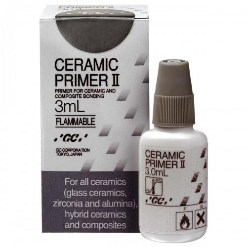 CERAMIC PRIMER II праймер для ремонта / фиксации керамики и композита 3 мл