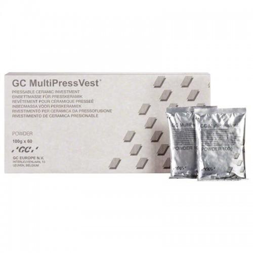 MULTIPRESSVEST  порошок для фосфатная формовочная масса для пресс-керамики 100 г x 60 пакетов