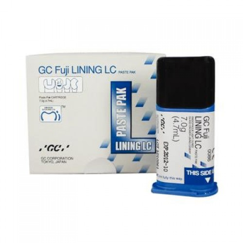 FUJI LINING LC PASTE PAK cтеклоиономерный подкладочный цемент светового отверждения картридж 4.7 мл