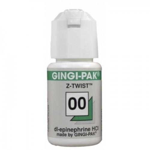 Нить ретракционная с пропиткой GINGI-PACK MAX размер № 00 зеленая 274 см
